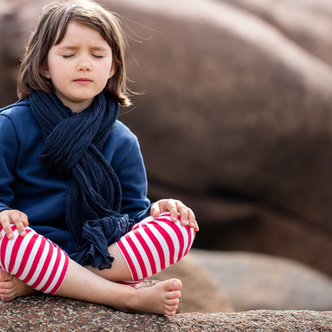 Meditation benefit: Helps with Tests ∙ kids
