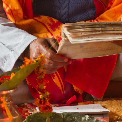 Meditation practice: Ananda Marga