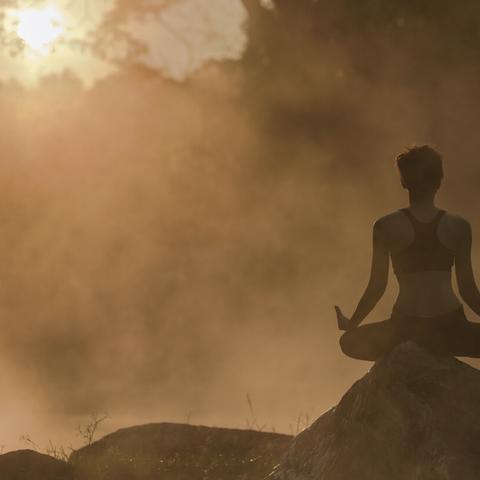 Meditation practice: Hot Yoga