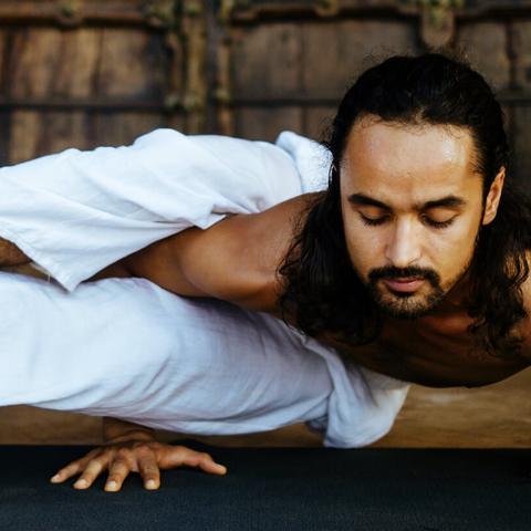 Meditation practice: Power Yoga