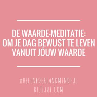 Meditation name: Waarde-meditatie
