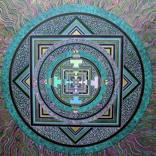Meditation name: Connecting to Source: Kalachakra for the Goddess Mandala Meditation