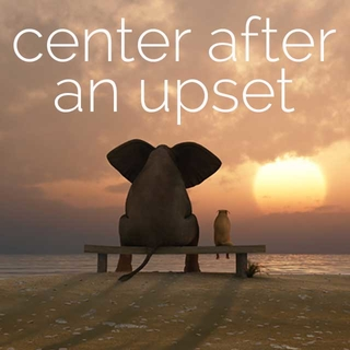 Meditation name: 1-Minute Meditation: Center After An Upset