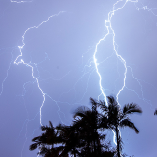 Meditation name: Tropical Thunder Storm in Bali. Perfect For Sleep