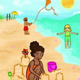 Meditation name: The Beach Children's Meditation