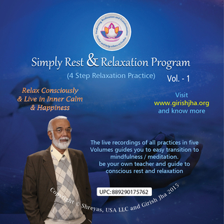 Meditation name: Simply Rest & Relaxation 1.2: Four Step practice with music