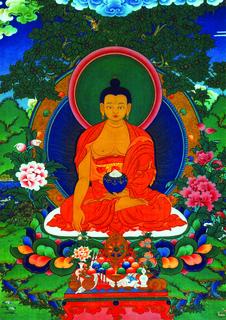 Meditation name: Meditation on the Buddha