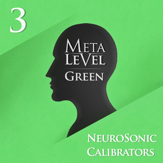 Meditation name: NeuroSonic Calibrator: MetaLevel Green 3