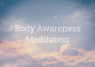Meditation name: Body Scan & Awareness