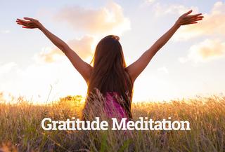 Meditation name: Gratitude Meditation