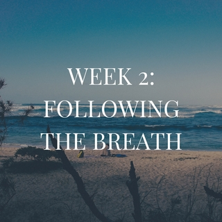 Meditation name: Week Two: Following the Breath