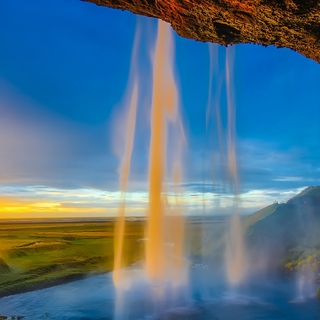 Meditation name: Mid-Day Refresher: Waterfall of Love