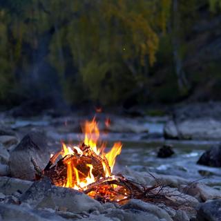 Meditation name: Nature Sounds: Campfire & Stream