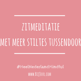 Meditation name: Zitmeditatie