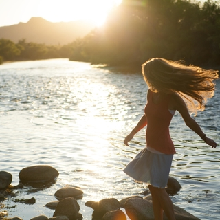 Meditation name: Schweben — Meditation im Liegen (Yoga Nidra)