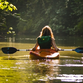 Meditation name: Finding Calm in the Rushing River