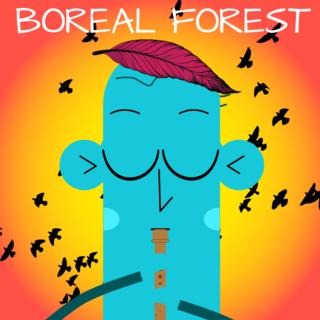 Meditation name: Boreal Forest Music