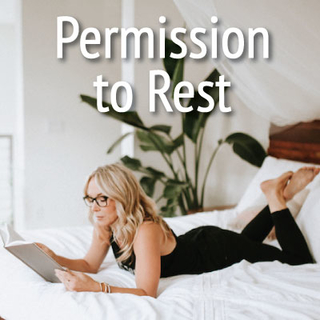Meditation name: Permission to Rest Meditation