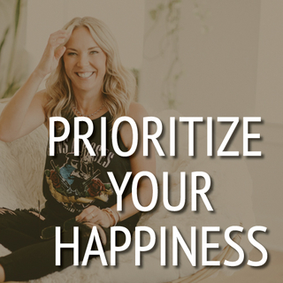 Meditation name: Prioritize Your Happiness & Put Yourself Forward