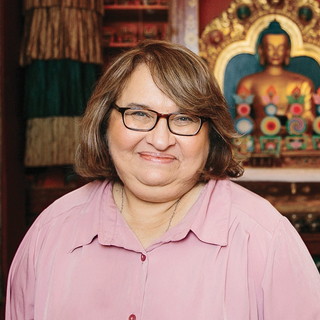 Meditation teacher: Sharon Salzberg