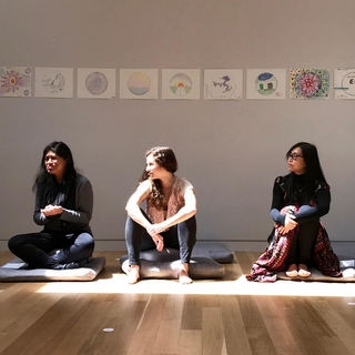 Meditation teacher: Carolyn Centeno