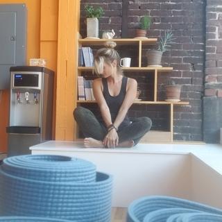 Meditation teacher: LouAnn McBride